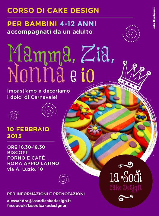 Corsi di cake design per bambini a roma for Corsi design roma