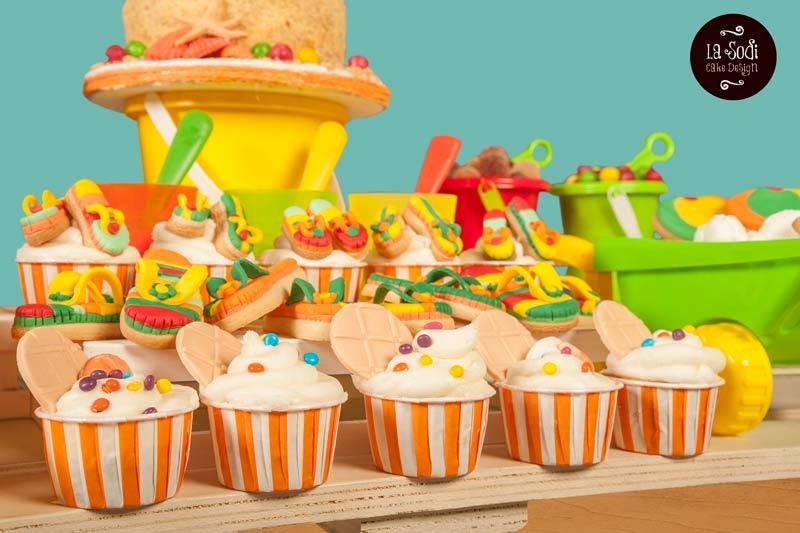 cupcakes decorati tema mare