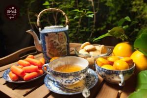 tè e dolcetti: tortine di carote