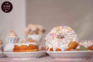 doughnuts glassati con zucchero