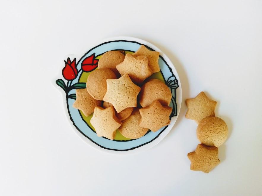 biscotti alla ricotta, stelline