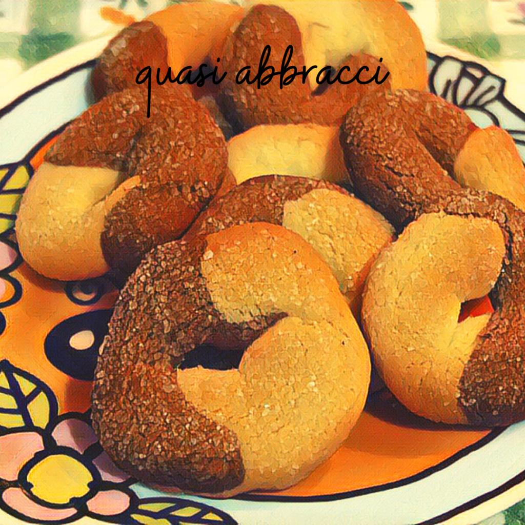 piatto di biscotteria dell'Avvento